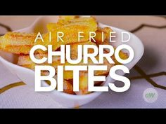 Air Fried Churro Bites – GoWISE USA