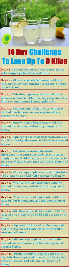This weight loss remedy is perfect if you like to those extra pounds, and detoxify your organism.