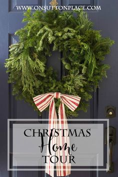 Christmas Home Tour 2014 | On Sutton Place | DIY ideas and Christmas decor
