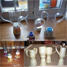 Trofeos reciclados para el Día del Padre