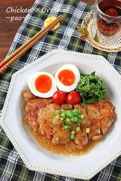 フライパンで簡単!お肉がとろとろ柔らかチキンのおろし煮♪|LIMIA (リミア)