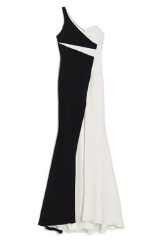 AVALON 2 Tone One Shoulder Gown from Jay Godfrey