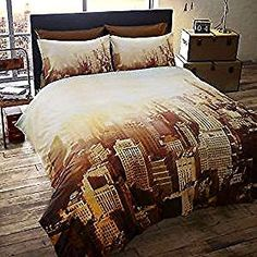 Taxi Duvet Quilt Cover USA New York City 3D Bedding ~ FREE P/&P ! Empire State