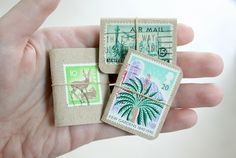 When I first opened my Etsy shop I listed some wooden brooches made using vintage stamps. They were hugely popular and sold out really quic...