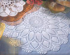Doily Rug, Crochet Doilies, Mantel Redondo, Knit Dishcloth, Mandala, Boho, Rugs, Knitting, Crocheting