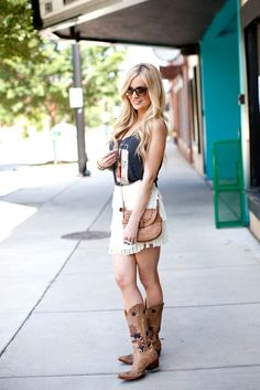 Emily Maynard looking fabulous in our Southern Belle Tank in Charcoal Grey!  Now back in stock!