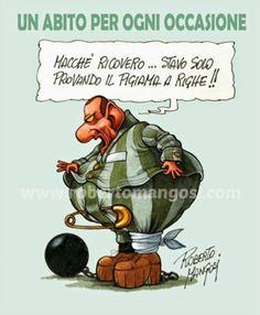 """ITALIAN COMICS: PSICODRAMMA IN UN ATTO: """"I Dolori del Giovane Silvio"""".Sceneggiatura:Romano Garofalo, Vignette:Roberto Mangosi.(vignetta 1)"""