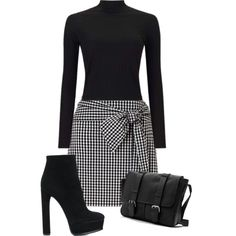 Interview Outfit :) by hannahfoster-i on Polyvore featuring Miss Selfridge and Casadei