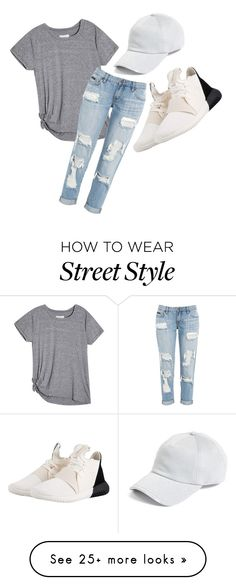 """""""street style"""" by abbeywigley on Polyvore featuring adidas Originals and rag & bone"""