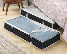 Under Bed Storage Bag Box Container Clothes Organizer Chest Shoes Home Closet #ZOBER