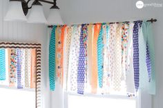 How To Make A Shabby Chic Window Valance In Minutes - One Good Thing by JilleePinterestFacebookPinterestFacebookPrintFriendlyPinterestFacebook