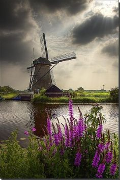 Windmill in the Netherlands.... -