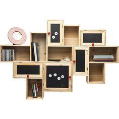 Wall Shelf Schools Out 5 doors - KARE Design