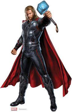 Thor Life-Size Cardboard Cutout <3