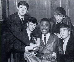 Very Rare Photo of The Beatles and Little Richard