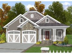 Narrow Lot House Plans   Baldwin Narrow Lot Home Plan 013D-0132   House Plans and More