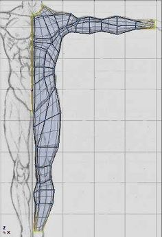 Hinting blender: Modeling a realistic human body complete - the body Figure Drawing Reference, Animation Reference, Anatomy Reference, Blender 3d, Blender Models, 3d Model Character, Character Modeling, Character Design, 3d Drawing Techniques