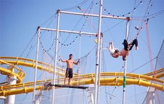#SMpinspiration trapeze school at the pier