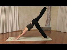 Vinyasa flow sequence