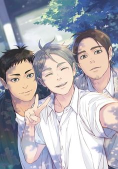 but first....let me take a selfie :)) I want Sugawara the selfie guy to be cannon so bad