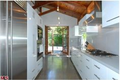 Josh Hutcherson Hollywood Hills Home-Kitchen