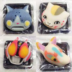 徳島県徳島市の和菓子店『くらもと日の出』の4代目ご主人が、ふとした事で作り始めた「キャラ和菓子」。それが今じわじわと注目を集めております。  4代目ご主人は、今年で12年目の和菓子職人。大学卒業後に