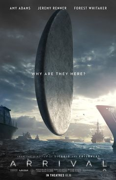 ARRIVAL movie poster No.5