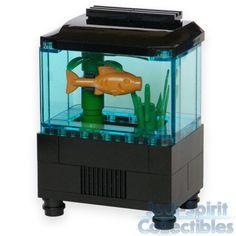 Lego Aquarium Set with Fish & Plants