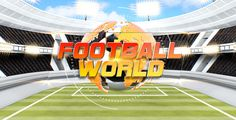 Football World #3D, #Ball, #Display, #Football, #Game, #Intro, #Logo, #LowerThird, #Opener, #Pulsarus, #Soccer, #Sport, #Stadium, #Text, #Video, #Web https://goo.gl/8IylxE