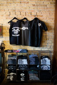 Look at all of our new gear, biker tanks tops, t-shirts and shop shirts! Great summer apparel for all!