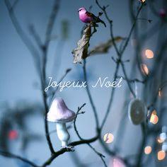 """Joyeux Noël"" Post Card by Caroline Briel"