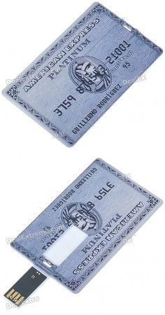 credit card flashdrive.
