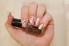 Sally-Hansen-Salon-Effects-Real-Nail-Polish-Strips-in-Mad-For-Plaid-nails  review