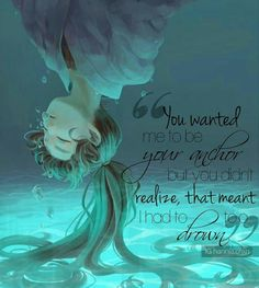 Oh and how I would go to the bottom of the ocean for you just to see you smile Sad Anime Quotes, Sad Quotes, Love Quotes, Inspirational Quotes, This Is Me Quotes, Bottom Of The Ocean, Depression Quotes, Meaningful Quotes, How I Feel