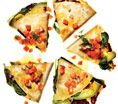 Vegetable Quesadillas With Fresh Salsa: Recipes: Self.com : Packing these puppies full of veggies gives them a wallop of low-cal flavor, leaving plenty of room for queso. #SELFmagazine