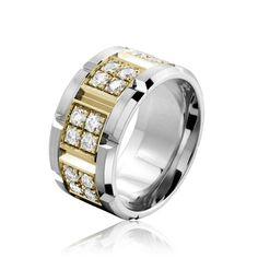 Carlex Wedding Ring WB-9591YW-S6