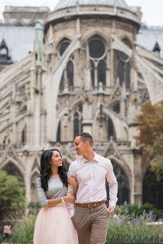 A Parisian Engagement - {Photography by Pictours Paris}