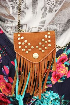 #Glastonbury 2013: #festival #fashion #style #spotting | Fashion blog | Oxfam GB #tassel #tan #pouch