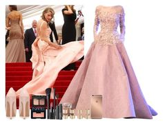 """""""Red Carpet with Taylor Swift ! <3"""" by assia-mouaqk ❤ liked on Polyvore featuring GALA, Elie Saab, Jessica Simpson, NARS Cosmetics, Maison Margiela and Mura"""