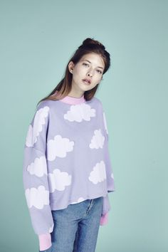 Lazy Oaf Fluffy Cloud Sweatshirt  http://www.lazyoaf.com/lazy-oaf-fluffy-cloud-sweatshirt