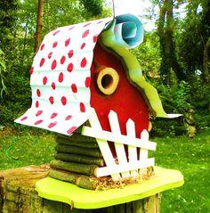 Extra large whimsica birdhouse unique and by adventureoriginals,