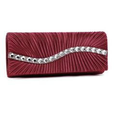 Damara Womens Perfectly Pleated Crystals Stone Clutch Evening bags,winered Damara To purchase just click on Amazon right here http://www.amazon.com/dp/B00KHEE3B6/ref=cm_sw_r_pi_dp_uKnQtb07SMYXSAVT