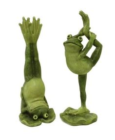 Yoga Frogs Decorative Figurines-Set Of Two by Young, http://www.amazon.com/dp/B007HBYOUM/ref=cm_sw_r_pi_dp_GWKerb195ZS3H