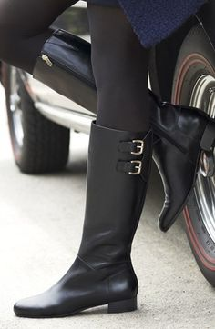 Always in search of the perfect lil black boot.