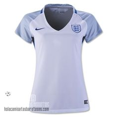 Camiseta Primera Mujer Inghilterra Euro 2016  €20.5