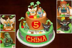 Legends of Chima cake
