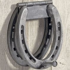 horseshoe door knockers