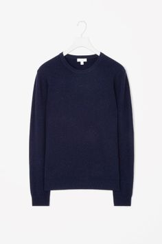 Nep textured wool jumper