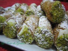 Cannoli alla ricotta siciliani Ricetta Le Torte di Gessica