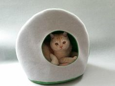 Luxury Designer CAT BED - SNUGGLE - NZ Made! SO CUTE Luxury Designer, Cat Love, Snuggles, Mattress, Vibrant, Wool, Cats, Bed, Gatos